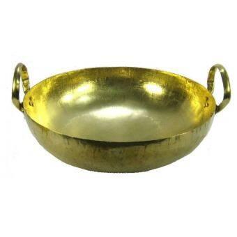 KSM กะทะทองเหลือง เบอร์ 14