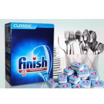 Finish PowerBall ฟินิช 100ก้อน ผลิตภัณฑ์ล้างจานชนิดก้อน สำหรับเครื่องล้างจานอัตโนมัติ