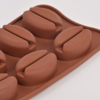แม่พิมพ์ซิลิโคน เมล็ดกาแฟ พิมพ์วุ้น ทำน้ำแข็ง ทำ chocolate food grade