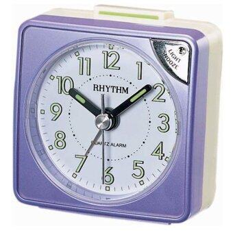 RHYTHM นาฬิกาปลุก รุ่น CRE211NR12 (Metallic Purple)