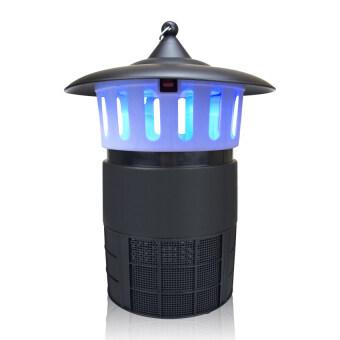 Replica Shop เครื่องดักยุงไฟฟ้าแบบพัดลมดูด LED รุ่น GD-8004 (สีดำ)