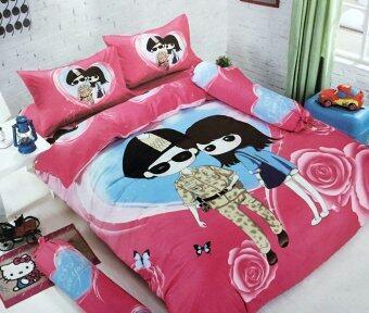 Lily ชุดผ้าปูที่นอน 6 ฟุต 6 ชิ้น พร้อมผ้านวม เกรด A - YK007 - กัปตันยูชีจิน กับ แพทย์หญิงคังโมฮยอน