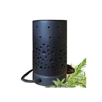 Aroma & More เตาเผาน้ำมันหอมระเหยไฟฟ้าเซรามิกสีงาช้าง - สีดำ