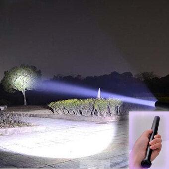 3 Mode CREE Q5 LED Small Baseball Bat Flashlight Security Camping Outdoor Bright Torch Light