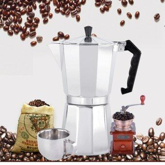Harga 6 CUP MOKA Espresso Coffee Maker Percolator Perculator Stove Top NEW - intl