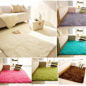 Audew หนาป้องกันการลื่นล้มบนพื้นเสื่อพรมผ้าห่ม/ปก 80ซม x 120ซม (สีเทา) - intl