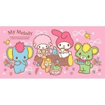 Sanrio ผ้าขนหนู มายเมโลดี้ MM-007 สีชมพู ขนาด 30x60 นิ้ว