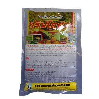 THAIGREENAGRO หัวเชื้อจุลินทรีย์ ทริปโตฝาจ ขนาด 500 กรัม 1ถุง