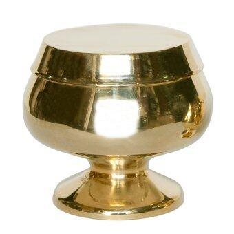 Thai Bronze บาตรพระทองเหลือง เล็ก สำหรับใส่พระองค์เล็กๆ บนโต๊ะหมู่บูชา