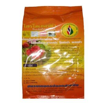 THAIGREENAGRO ไตรโคเดอร์ม่า -TM (ชนิดหยาบใส่ทางดิน) จุลินทรีย์ชีวภาพแก้โรครากเน่าโคนเน่า ไทยกรีนอะโกร THAIGREEN SHOP สินค้าการเกษตร