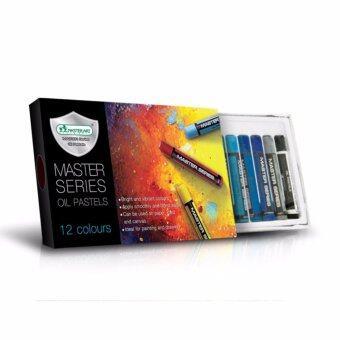 Master Art มาสเตอร์อาร์ต สีชอล์กน้ำมัน รุ่นมาสเตอร์ซีรี่ย์ 12 สี