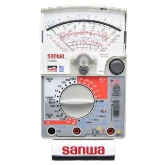 Sanwa อนาล็อกมิเตอร์วัด capacitor และ transistor รุ่น CX506a