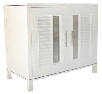 KING ตู้อเนกประสงค์ NUVO KB1-85 - White