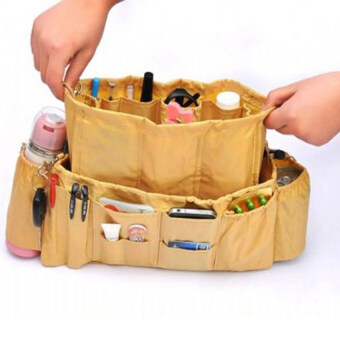 LISA kangaroo bag กระเป๋าจัดระเบียบ กระเป๋ากล่องเก็บของ กล่องใส่ของ กล่องอเนกประสงค์ กระเป๋า LI0130ดำ