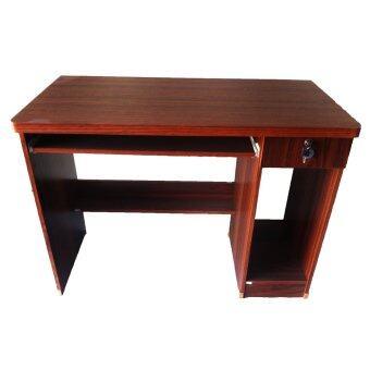 TGCF โต๊ะทำงาน 100E ซม. (สีสัก)