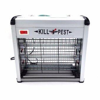 CCJGE เครื่องดักยุงและแมลงขนาด12วัตต์ เครื่องดักยุงไฟฟ้าระบบแสงUV เครื่องดักจับยุง ที่ดักยุง โคมดักยุง เครื่องกําจัดยุง 12W Electrical Mosquito Killer