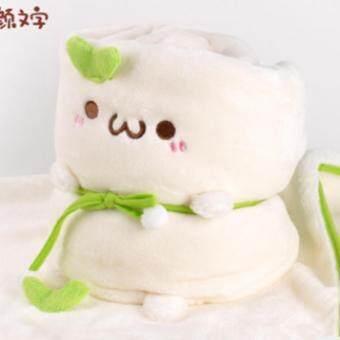 Akemi ตุ๊กตาผ้าห่ม (สีขาว)