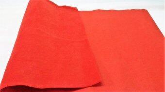B&G พรมดักฝุ่น ขนาด 66x120 ซม. (สีแดง)