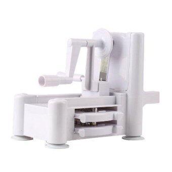 HHsociety เครื่องสไลด์อเนกประสงค์ 3 in1 Turning Slicer (White) (image 1)