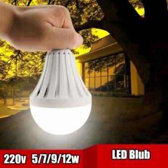 ซื้อ 3 หลอด ฟรี อีก 3 หลอด รวม 6 หลอด 890 บ.หลอดไฟอัฉริยะ LED 12 วัตต์ ใช้เป็นไฟฉุกเฉิน ติดอัตโนมัติเมื่อไฟดับเซ็ตละ 890 บ.