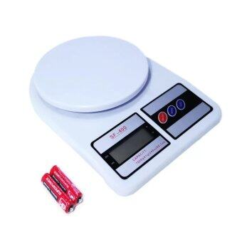 HS Eaze Electronic Kitchen Scale Max 7 Kg. รุ่น SF-400 (สีขาว)