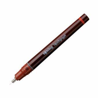 ปากกาเขียนแบบ rOtring Rapidograph (ขนาดหัว 0.1 mm.)