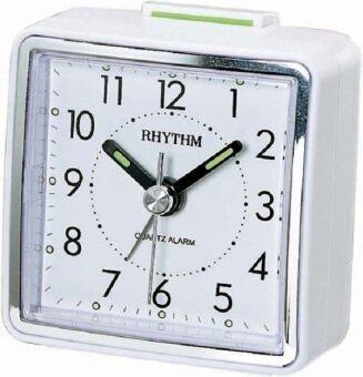 Rhythm นาฬิกาปลุก รุ่น CRE210NR03 (White)