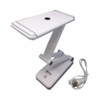 โคมไฟพับได้ KM-6682C LED 28ดวง แสงไฟสีขาว ปรับระดับความสว่างได้ด้วยปลายนิ้วสัมผัส