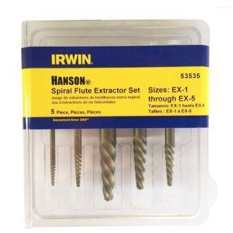 IRWIN HANSON ดอกถอนตะปูเกลียว รุ่น 53535 (สีเงิน)