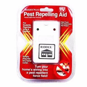 เครื่องไล่หนู แมลงสาป ยุง มดและแมงมุม Electronic LED Light Pest Repelling Aid (White)