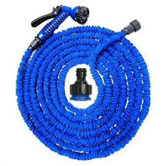 Elastic Hose สายยางยืดหดอัตโนมัติ MAGIC HOSE Automatically EXPANDS and Contracts 50 ฟุต/15M (สีน้ำเงิน)