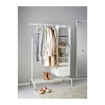 RIGGA ราวตากผ้า Clothes rack 111*175 cm (ขาว)
