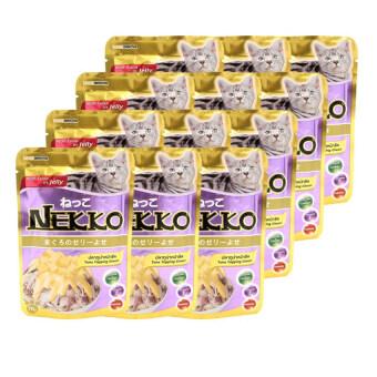NEKKO อาหารเปียกแมว รสปลาทูน่า หน้าชีส 70g ( 12 units )