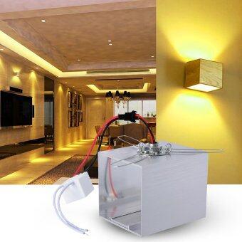 โคมไฟติดผนัง 3W LED รูปทรงสี่เหลี่ยม สำหรับ บันได ทางเดิน