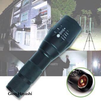 Hayashi - ไฟฉายความสว่างสูง LED CREE XML T6 5 โหมด Flashlight