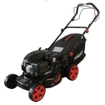 ASGATEC รถตัดหญ้าน้ำมันขับเคลื่อนอัตโนมัติ 6.5 แรงม้า รุ่น GM 6001 สีดำ-แดง