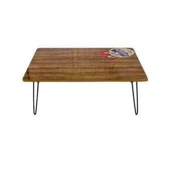 AN&P SHOP โต๊ะญี่ปุ่นขาเหล็กเพลาแบบล็อค ขนาด 60 x 80 ซม. สีลาเต้
