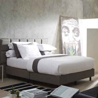 Dunlopillo DL-Col_whaite ชุดผ้าปูที่นอน+ผ้านวม (ปู+นวมขนาด 6ฟุต)