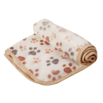 Harga L Pet Blanket Mat Dogs Cat Bed(White) - Intl
