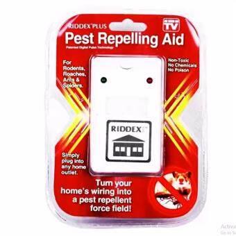 Repelling Aid เครื่องไล่หนู มด แมลงสาบ แมงมุม ด้วยคลื่นเสียงอัลตร้าโซนิค 1 ตัว