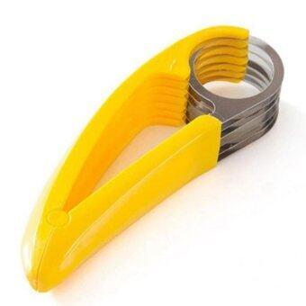 KING Tokyo Banana slicer มีดหั่นกล้วย, ไส้กรอก และ แตงกวา
