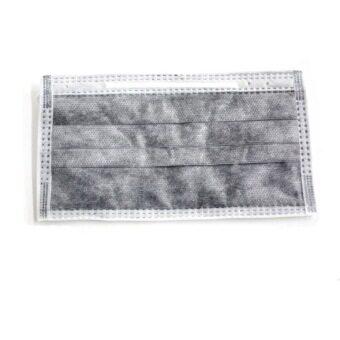 S-SHIR หน้ากากคาร์บอน - สีดำ (50 ชิ้น/กล่อง)