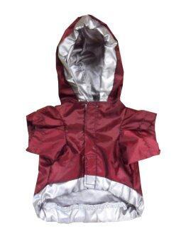 Dogacat เสื้อสุนัข เสื้อหมา เสื้อแมว ชุดกันลม กันฝน - สีแดง