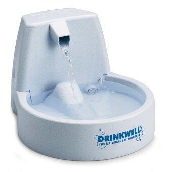 Drinkwell เครืองให้น้ำสัตว์เลี้ยง ความจุ 1.5 ลิตร รุ่น FCB-RECN (สีเทาอ่อน)