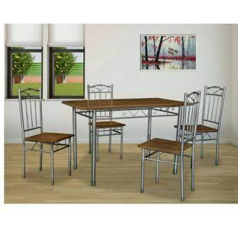 RF Furniture ชุดอาหาร Caramel / คาราเมลเบสช๊อยส์ 4ที่นั่ง