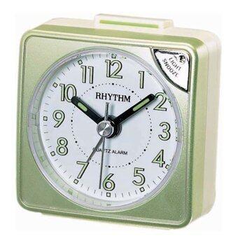 RHYTHM นาฬิกาปลุก รุ่น CRE211NR05 (Pearl Green)