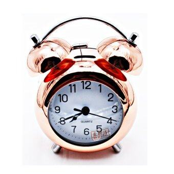 iBettalet นาฬิกาปลุก นาฬิกาตั้งโต๊ะ รุ่น WK-7701-2 ( สีน้ำตาล )