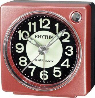 Rhythm นาฬิกาปลุก รุ่น CRE823NR01 (Metallic Red)