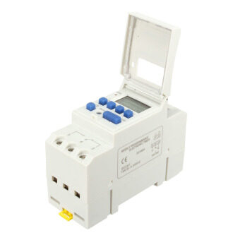Harga THC 15A Digital LCD Programmable Timer Time Relay Switch AC 24V - intl