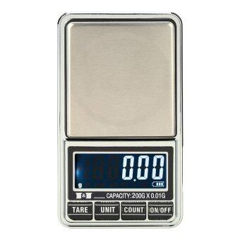 DJSHOP Digital Scale-เครื่องชั่งทองดิจิตอล 200g/0.01g รุ่น DS-29
